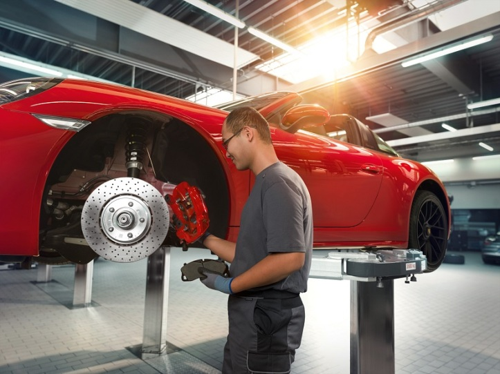 Porsche Service-Exchange brake pads